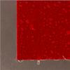 Röd fasadskiva med en slät yta, närbild