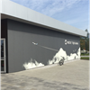 STENI Vision fasadskiva, Newton-Flight-Academy
