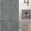 Fasadskiva av granit
