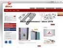 Skjutdörrshandtag på webbplats