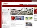 RG glasbeslag på webbplats