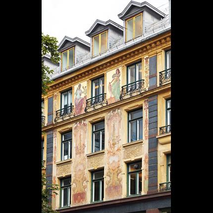 KEIM Purkristalat fasadfärg, Akersgata i Oslo