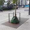 Hammarby Bruk Esplanad markgaller och stamskydd av plattstål, Täby Centrum
