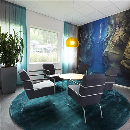 Temporent NOVA kontor, mötesplats