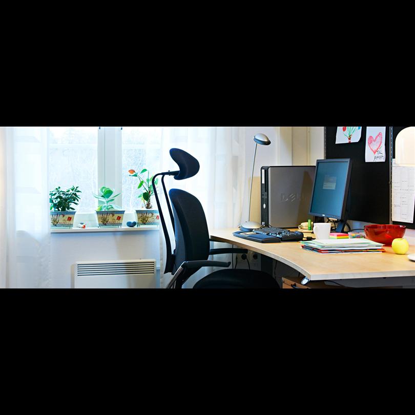 Temporent modulbyggnader kontor KUBIK, interiör