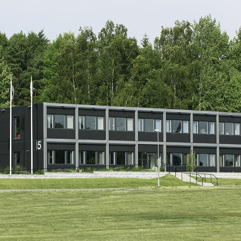 Temporent modulbyggnader NOVA kontor