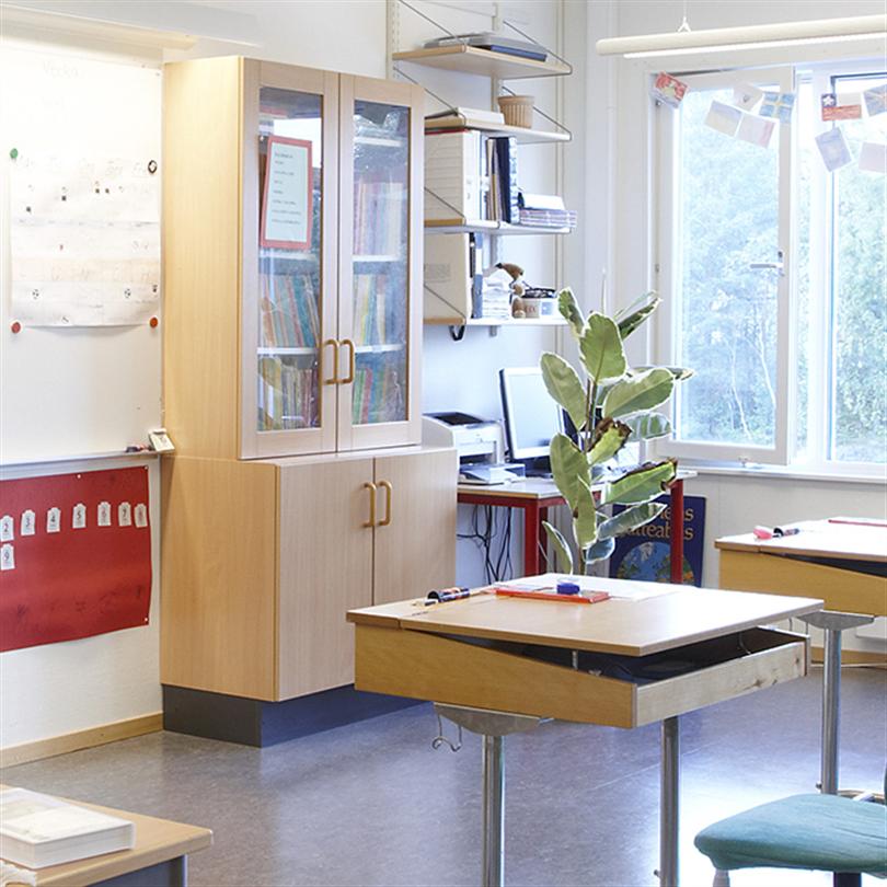Temporent RYMD skolor, klassrum
