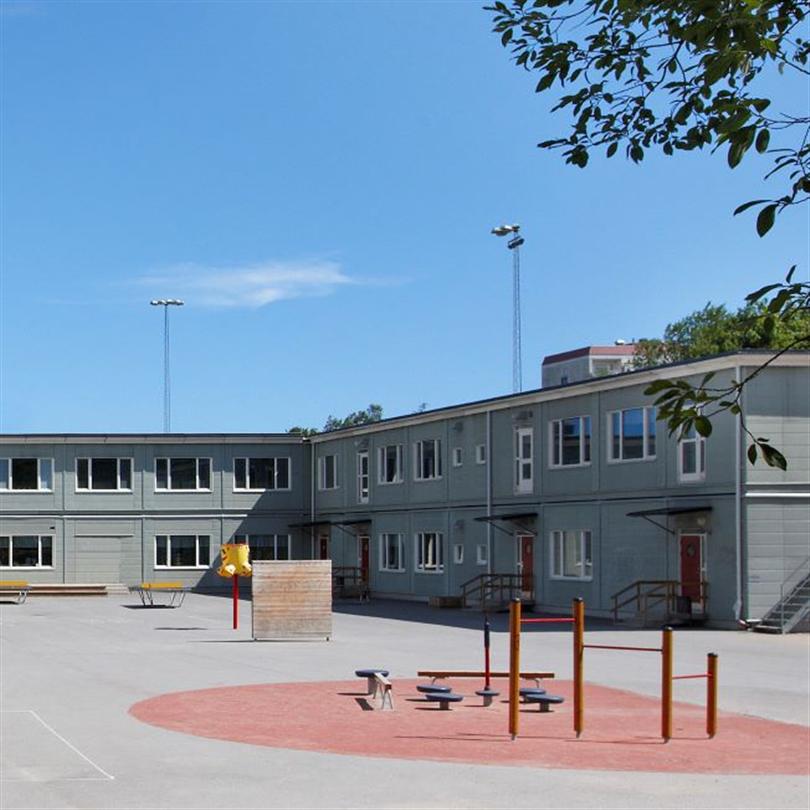 Temporent modulbyggnader RYMD skolor