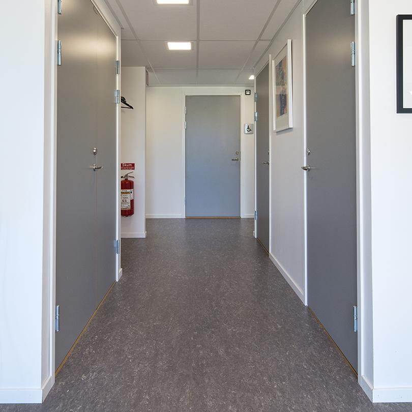 Temporent NOVA kontor, korridor