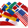 Svanen flaggor