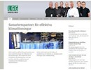 LGG Aurora induktionsluftkylare för hotell på webbplats