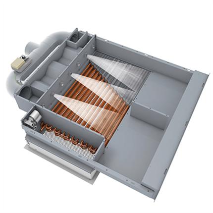 LGG Aurora Single och Dual Chamber induktionsluftkylare
