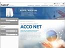 ACCO NET på Satels webbplats