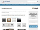 Fastighetsautomation på Skylinks webbplats