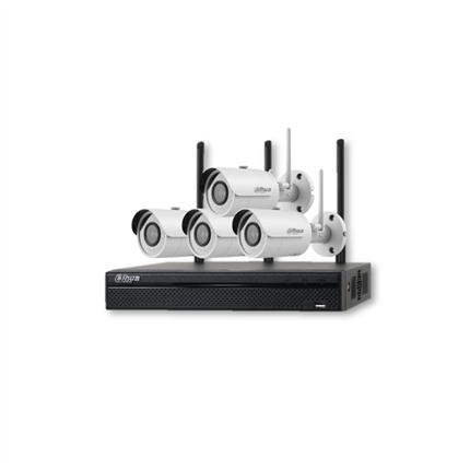 Dahua Övervakningskameror, Wi-Fi kit NVR 4st IPC