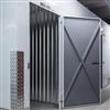 Troax Self storage förrådsutrymmen, vit slagdörr