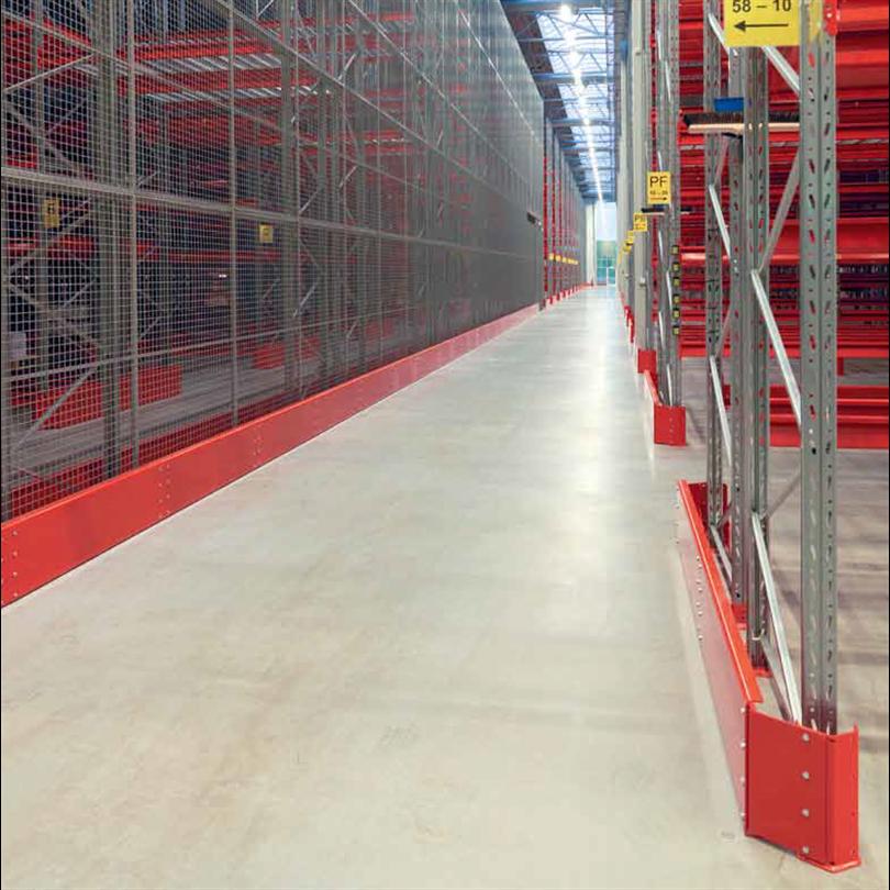 Troax Caelum industri- och lagervägg
