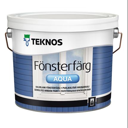 Teknos Fönsterfärg Aqua