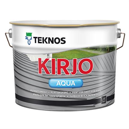 Teknos Kirjo Aqua plåttakfärg