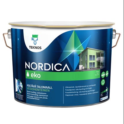 Teknos Nordica Eko utomhusfärg