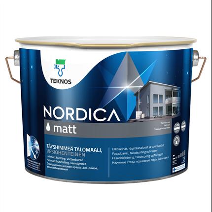 Teknos Nordica Matt utomhusfärg