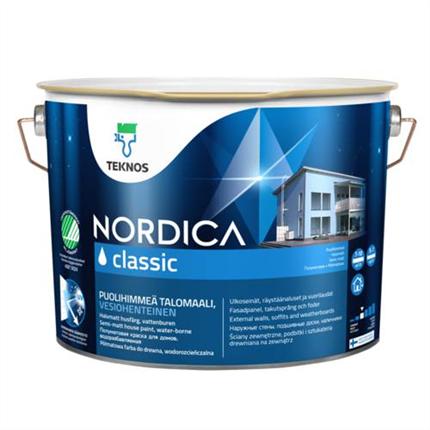 Teknos Nordica Classic utomhusfärg