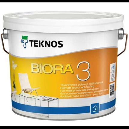 Teknos Biora 3, 7, 20 tak-/väggfärg