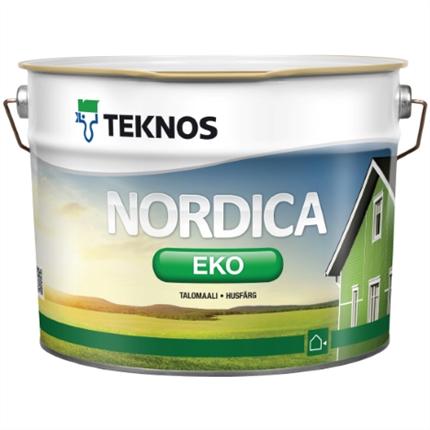 Teknos Nordica Eko fasadfärg