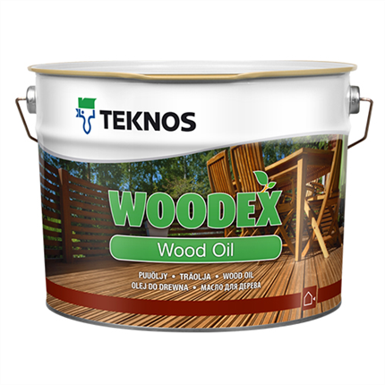 Teknos Woodex Wood Oil träolja