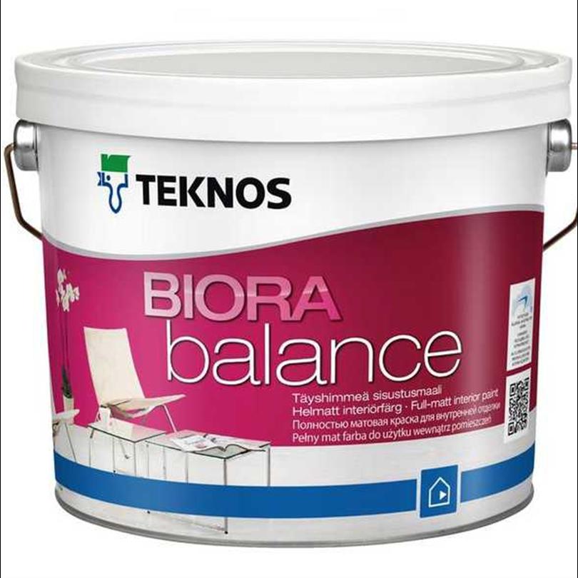 Teknos Biora Balance tak-/väggfärg