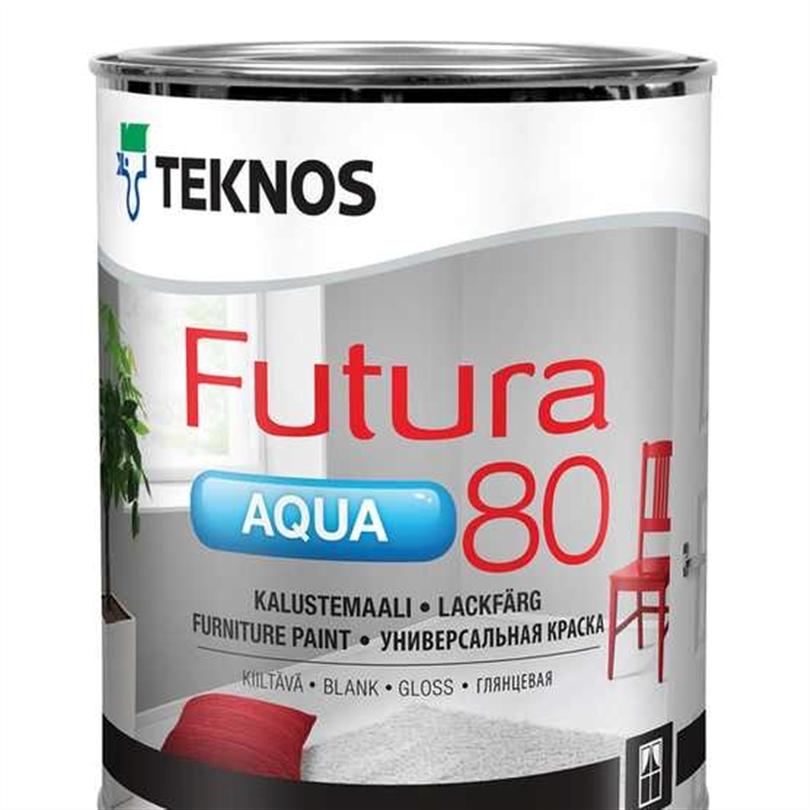 Teknos Futura Aqua 80 lackfärg