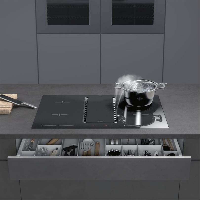 Gutmann Fonda, integrerad köksfläkt
