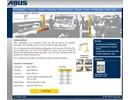 ABUS lättportalkranar på webbplats