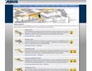 ABUS lättraverssystem på webbplats