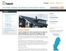 Trebolit Shingel på webbplats