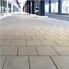 Släta plattor av betong