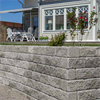 Mursten med tumlad granitkaraktär