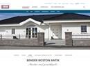 Bender Boston Antik på webbplats