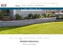 Megawall stödmursystem på webbplats