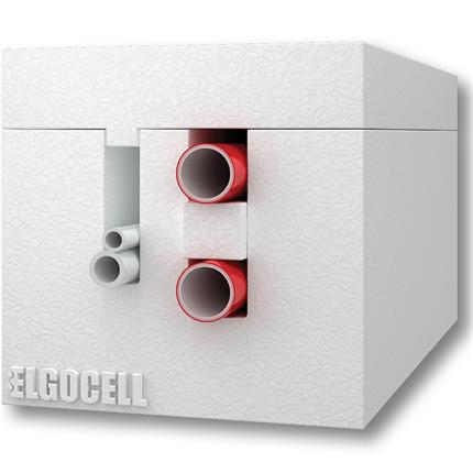 Elgotherm® - Värmekulvert för värme och varmvatten, 4 rör