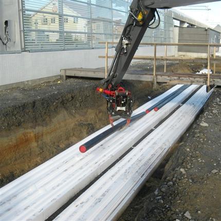 EPS PIPE™ - Universalisolering för markvärmerör, Umeå Centralstation