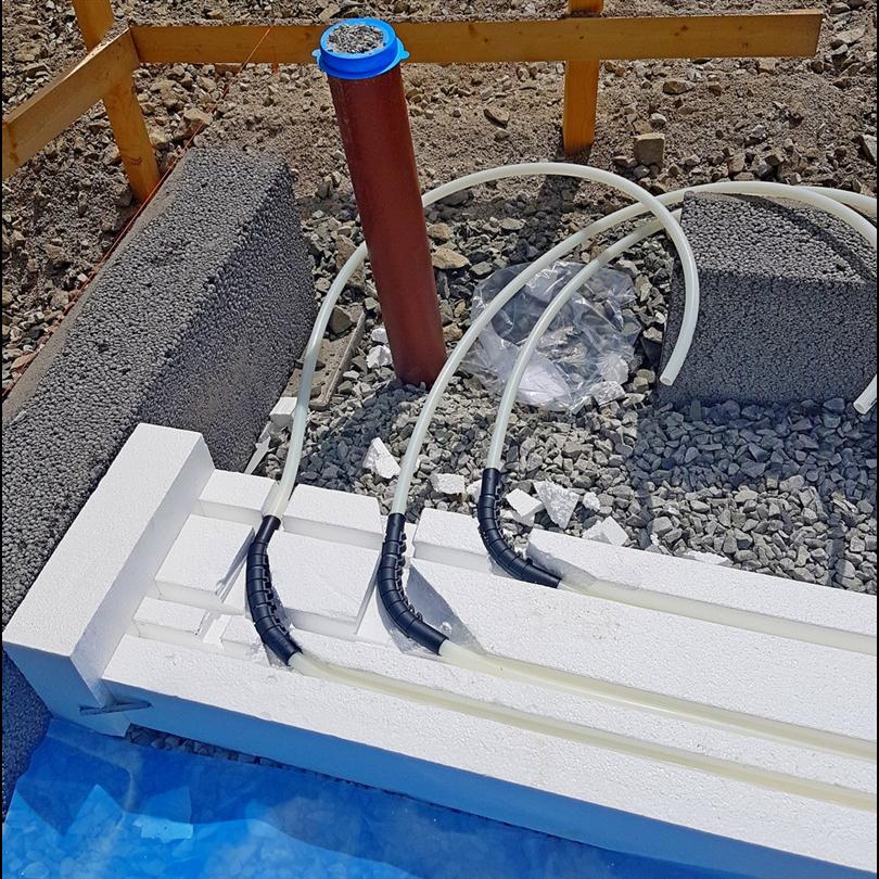 Elgotherm® - Värmekulvert för varmvatten, 2 rör