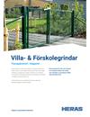 Heras Villa- & Förskolegrindar