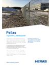 Heras Pallas stålnätspaneler