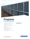 Heras PolyPlank bullerskärmar