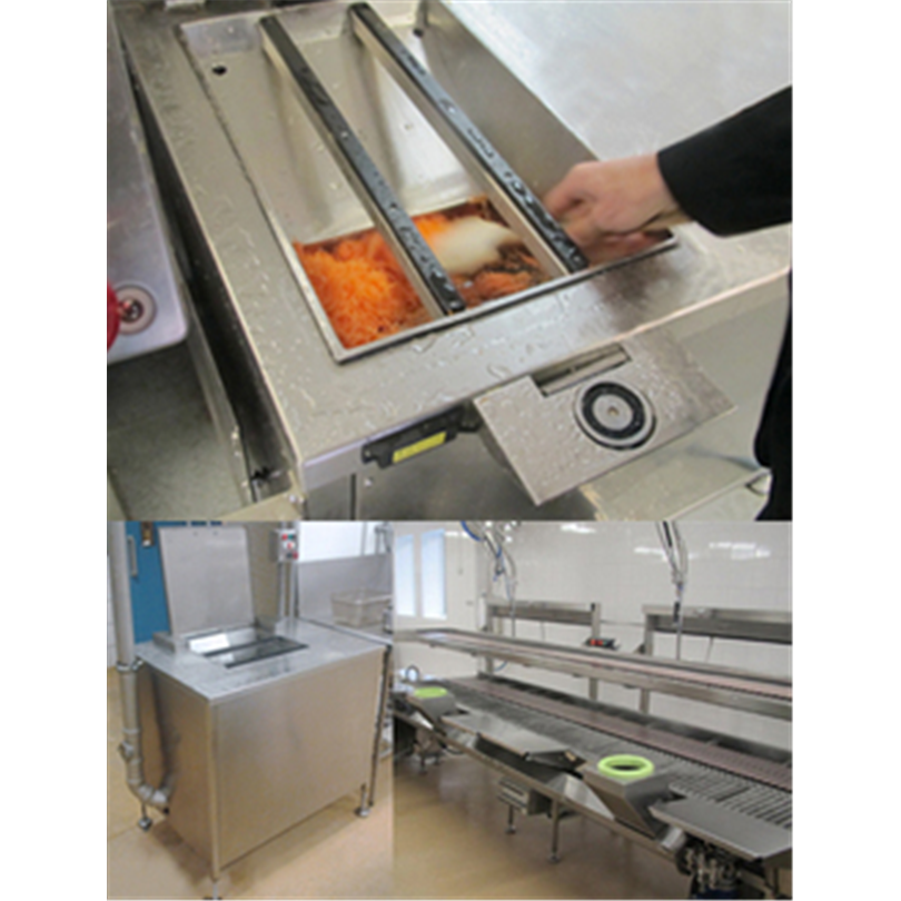 Envac Vakuumsugsystem för hantering av organiskt avfall