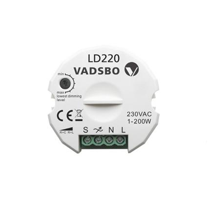 Vadsbro LD220 tryckdimmer