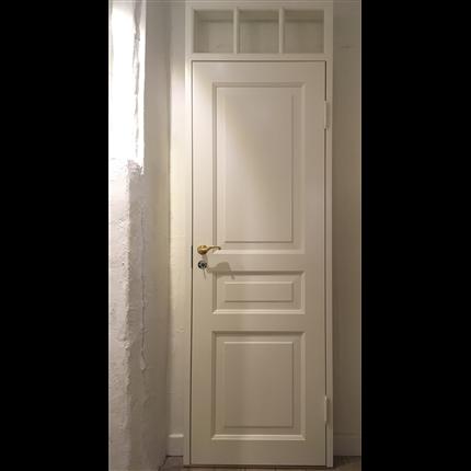Innerdörr, spegeldörr med överljus