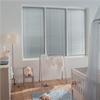 Invändiga persienner av aluminium, frihängande, mellanglasmontering