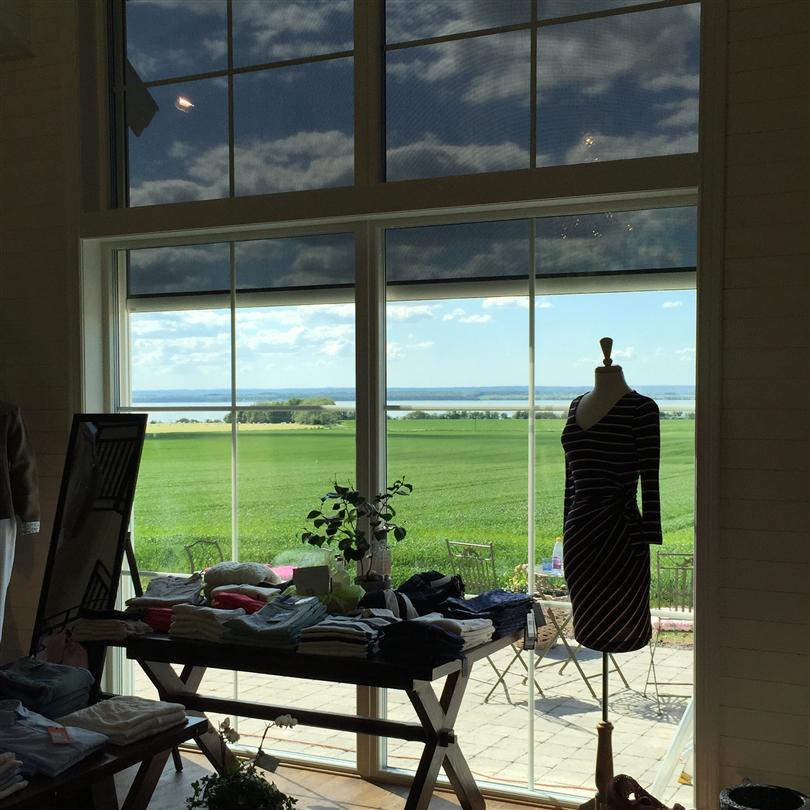Screenmarkis inomhus, nedfälld, vertikalmarkis för solskydd, vindtålig markis